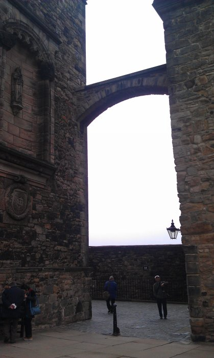 edinburgh castle inside